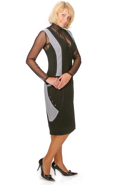 Выкройка платья-сарафана для полных