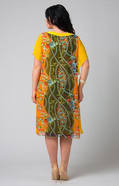 Платья из легкого шифона